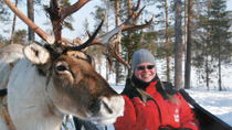 Lapland Snowmobile Safari to a Reindeer Farm from Rovaniemi, Lapland