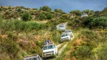 Crete Mainland 4x4 Self-Drive Safari with Lunch in Kastelli Kissamos, Crete