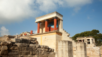 Palace of Knossos Guided Tour with Transport, Crete