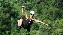 Falmouth Shore Excursion: Jamaican Zipline Adventure, Jamaica,