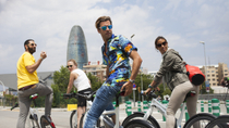 Barcelona Electric Bike Tour: Montjuïc Cable Car, Olympic Ring, Sagrada Familia, Park ...