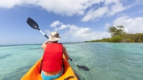 Pinel Island Kayaking and Hiking Tour, St Martin