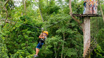 Angkor Park Ziplining and Ta Prohm Tour from Siem Reap, Siem Reap, Ziplines