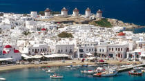 Private Tour: Helicopter Flight over Mykonos and Delos, Mykonos, Helicopter Tours