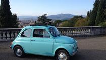 Grand Tuscany Driving Tour from Florence in Vintage Fiat 500, Florence, Vespa, Scooter & Moped Tours