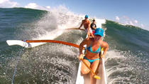 St Martin Canoe Surfing at Le Galion Beach, Grand Case, Surfing & Windsurfing