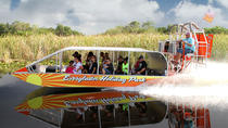 Everglades Airboat Tour and Gator Boys Alligator Rescue Show, Fort Lauderdale, Airboat Tours