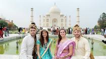 Private Taj Mahal Day-Trip from Delhi in Authentic Indian Dress with Local Family Visit, New Delhi, ...