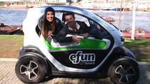 Full Day Porto Experience with GPS Electric Car Tour plus River Cruise and Tapas for 2, Porto,...