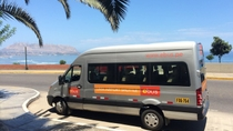 Lima Airport Shuttle to Miraflores, Lima, Bus Services