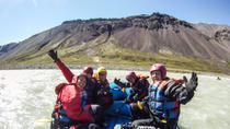 3-Day Rafting Tour from Hafgrímsstaðir: Grade 4 Rafting on the East Glacial River, ...