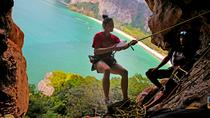 Full Day Rock Climbing and Caving Tours at Railay Beach in Krabi, Krabi, Climbing