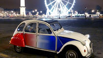 Paris and Montmartre By Night Tour in 2CV, Paris, Private Tours