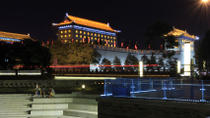 Xi'an Evening Tour: South Gate Square, Fountain Show and Tang Dynasty Theme Squares, Xian, Night...