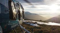 Cromwell Basin Flight with Alpine Snow Landing, Queenstown, Bike & Mountain Bike Tours