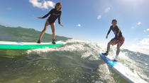 Two HR Group Surf Lesson: Three Students Per Instructor at Kalaeloa Campgrounds, Oahu, Surfing & ...