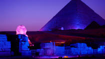 Giza Pyramid Sound And Light Show from Cairo, Cairo