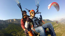 Catalonia Paragliding Flight in Montsec Range from Ager, Catalonia, Air Tours