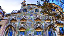 Barcelona Private Walking Tour including La Pedrera and Casa Batllo, Barcelona, Private Tours