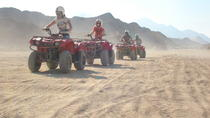 Quad Biking in the Egyptian Desert from Hurghada with Sunset and Show, Hurghada