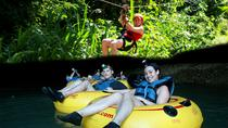 Private Cave Tubing and Zipline Adventure from Belize City, Belize City