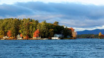 New Hampshire Train Along Lake Winnipesaukee, Manchester, Rail Tours