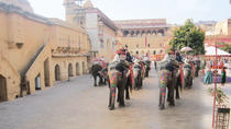 Private Tour: 2-Day Jaipur Tour including Elephant Ride at Amer Fort and Chokhi Dhani Dinner,...