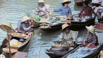 Full Day Tour of Floating Markets and the Bridge on the River Kwai, Bangkok, Day Trips
