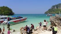 4 Islands Tour to Spectacular Divided Sea by Longtail or Speed Boat from Krabi, Krabi, Day Cruises