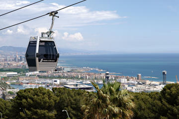 Barcelona Sightseeing Tour: Gothic Quarter Walking Tour, Olympic Village and Montjuic Cable Car Ride