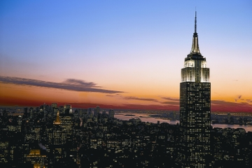 New-York : Empire State Building et promenade de l'observatoire avec billets coupe-files en option