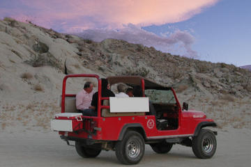 Small-Group Sunset and Nighttime Stargazing Tour to the San Andreas Fault from Palm Springs