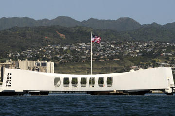 Oahu Day Trip: Pearl Harbor, Honolulu and Punchbowl from the Big Island