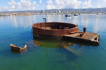 Pacific Aviation Museum, USS Arizona, Punchbowl and Honolulu City Tour
