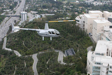 Los Angeles Celebrity Homes Helicopter Flight