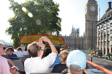 London Vintage Bus Tour with Thames River Cruise and the View from the Shard