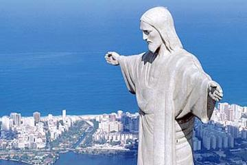 Rio de Janeiro Shore Excursion: Corcovado Mountain and Christ Redeemer Statue Half-Day Tour