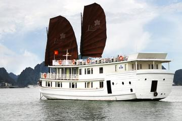 Halong Bay Overnight Junk Boat Cruise