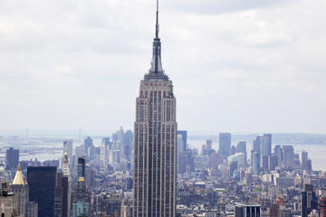 New York : simulateur NY SKYRIDE et observatoire de l'Empire State Building