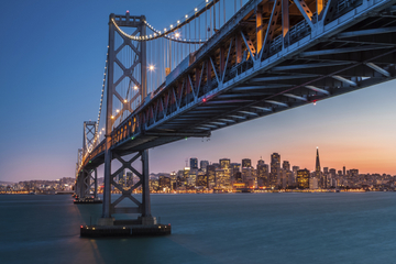 San Francisco City Lights Evening Tour