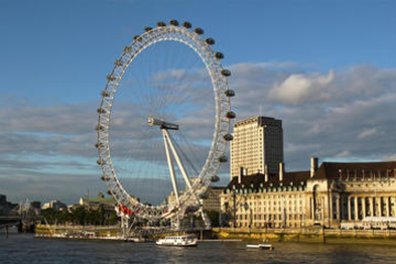 El London Eye, sin colas
