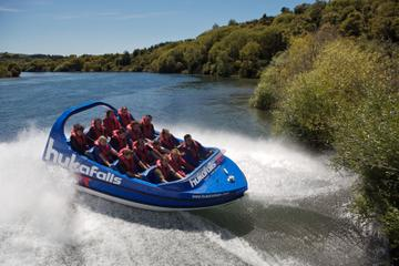 Taupo Adventure Combo: Jet Boat Ride, Helicopter Flight, Scenic Cruise and Whitewater Rafting