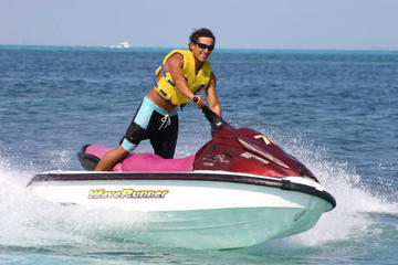Cancun Waverunner and Snorkel Combination Tour