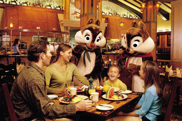 Disneyland Resort Character Dining