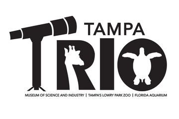 Tampa Trio Pass: Florida Aquarium, Tampa's Lowry Park Zoo and MOSI