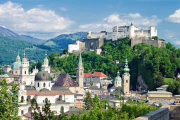 Panoramic Salzburg City Tour plus Austrian Lakes and Mountains Sightseeing Tour