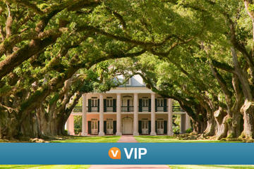 Viator VIP: Ultimate Plantation Tour from New Orleans with Overnight Stay at Oak Alley