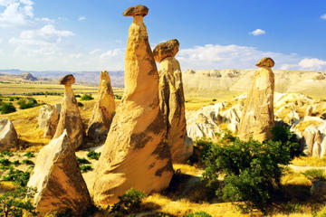 Cappadocia In One Day Small-Group Tour from Istanbul: Rose Valley, Ortahisar, Kaymakli Underground City and Pigeon Valley