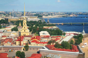 St Petersburg Shore Excursion: City Tour with Hermitage Museum and Peterhof