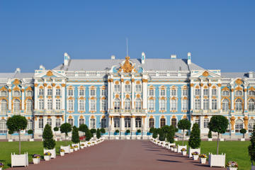 St Petersburg Shore Excursion: Imperial Residence Tour with Catherine Palace and Peterhof